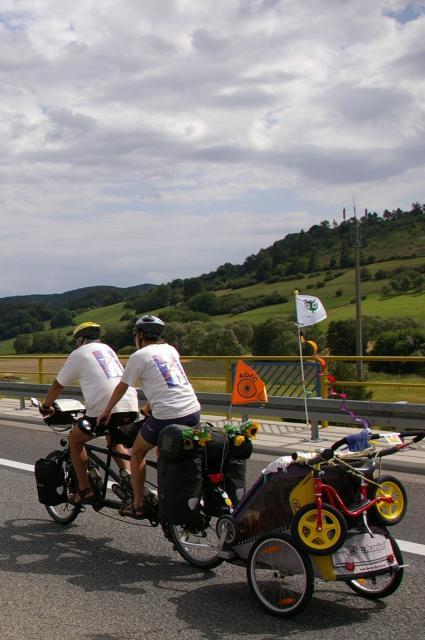 Tour de Natur 2008 - Familienfahrzeug