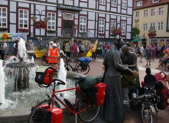 Lüchow Marktplatz