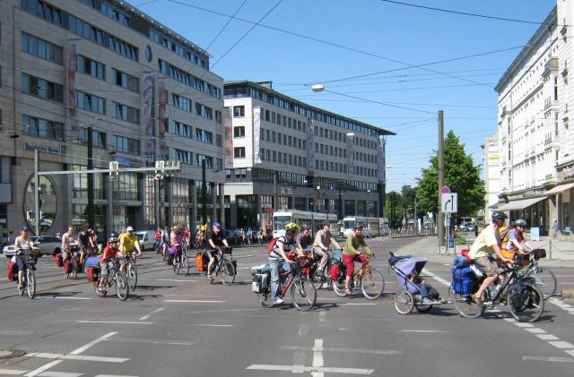 Tourstart 2009 in Magdeburg