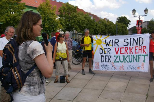 Kundgebung in Kremmen