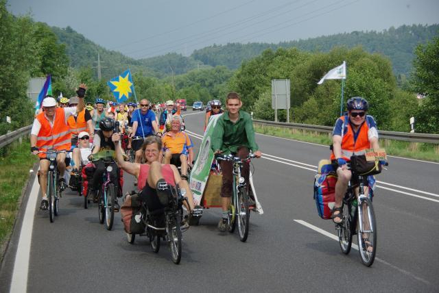 Tour de Natur 2008 - so geht umweltfreundlicher Verkehr!