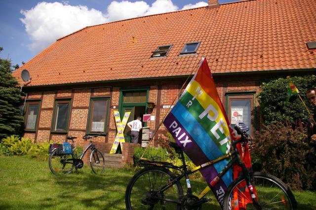 Tour de Natur 2009 - Besuch des Gorleben-Archivs